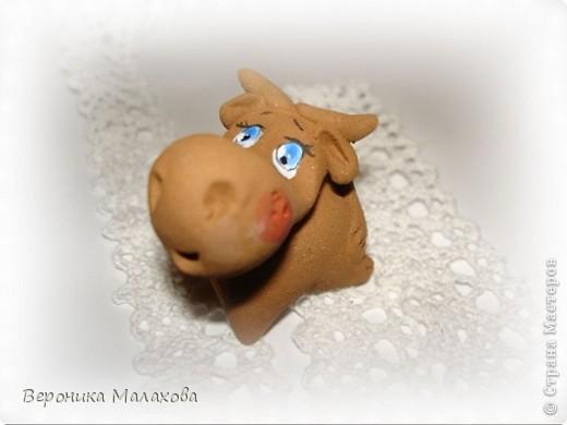Глиняная коровка фото 1