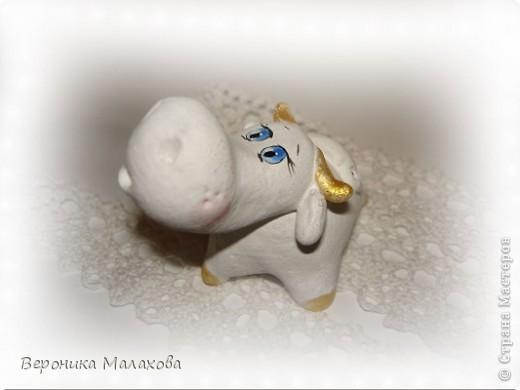 Глиняная коровка фото 2