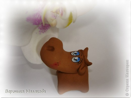 Глиняная коровка фото 3