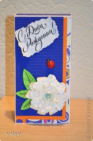Вот продолжение моих шоколадниц...сделалась на День Рождения преподавателя сына...мы ходим на занятия после садика...общеразвивающие...))) надеюсь понравится... фото 1