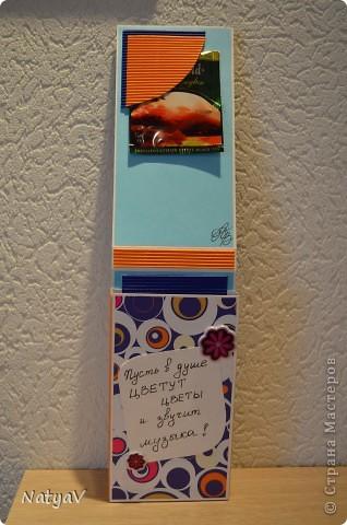 Вот продолжение моих шоколадниц...сделалась на День Рождения преподавателя сына...мы ходим на занятия после садика...общеразвивающие...))) надеюсь понравится... фото 4