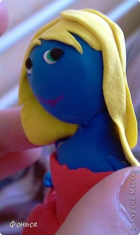 Вчера слепилась фея =))) Маленькая, миниатюрная куколка с прозрачными крылышками, зелёными глазами, золотыми волосами и стройными ножками... Итак, представляю вам Ангелину! фото 9