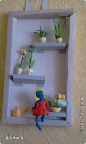Вчера слепилась фея =))) Маленькая, миниатюрная куколка с прозрачными крылышками, зелёными глазами, золотыми волосами и стройными ножками... Итак, представляю вам Ангелину! фото 11