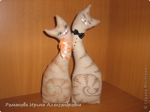 Влюбленные коты фото 1