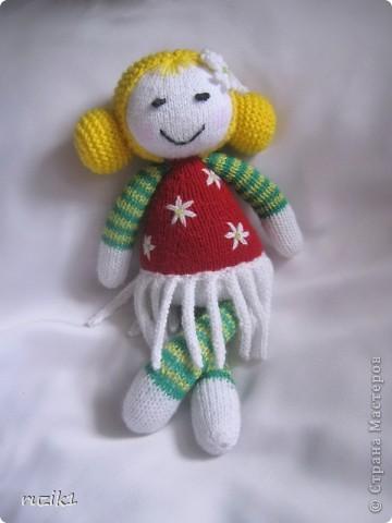 "вязаная кукла ""Ромашка"" фото 1"