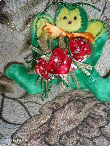 вот такую я пошила бабочку,вообще их было две,но вторую подарила не успела сфотать фото 1