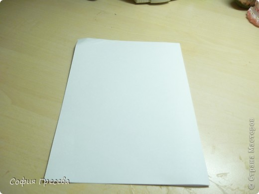 Такая открытка  делается за 5 минут. В этом мк я делала из обычного белого листа просто на показ , но если вы делаете её в подарок то лучше сделать из цветной бумаги. фото 3