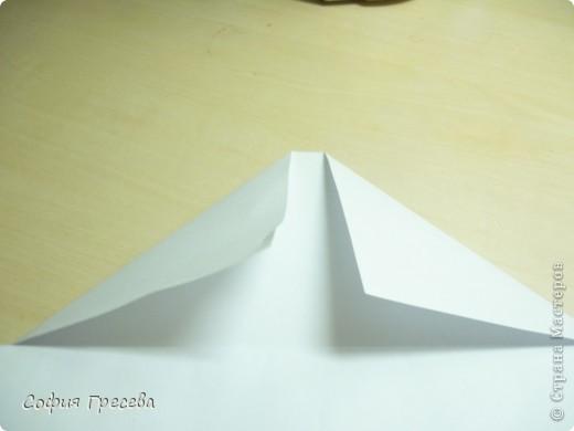 Такая открытка  делается за 5 минут. В этом мк я делала из обычного белого листа просто на показ , но если вы делаете её в подарок то лучше сделать из цветной бумаги. фото 10