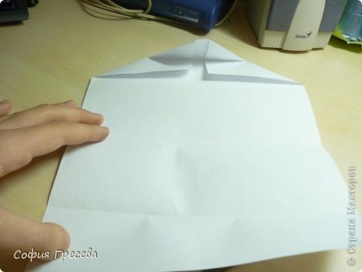 Такая открытка  делается за 5 минут. В этом мк я делала из обычного белого листа просто на показ , но если вы делаете её в подарок то лучше сделать из цветной бумаги. фото 13