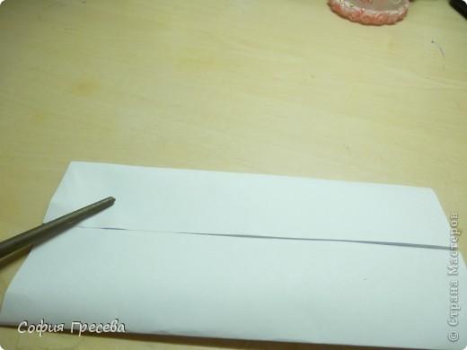 Такая открытка  делается за 5 минут. В этом мк я делала из обычного белого листа просто на показ , но если вы делаете её в подарок то лучше сделать из цветной бумаги. фото 15