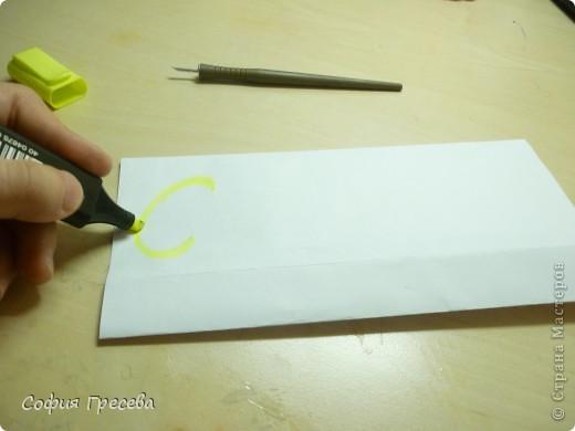 Такая открытка  делается за 5 минут. В этом мк я делала из обычного белого листа просто на показ , но если вы делаете её в подарок то лучше сделать из цветной бумаги. фото 16
