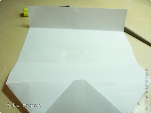 Такая открытка  делается за 5 минут. В этом мк я делала из обычного белого листа просто на показ , но если вы делаете её в подарок то лучше сделать из цветной бумаги. фото 18