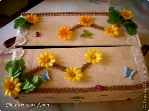 Доброго времени суток, жители Страны Мастеров!!! Еще коробочки для мамы украсила по ее просьбе... фото 3