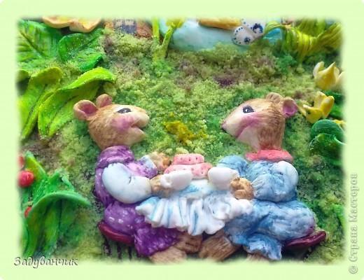 По картине Сьюзен Вилер слепила таких мышек-подружек) фото 6