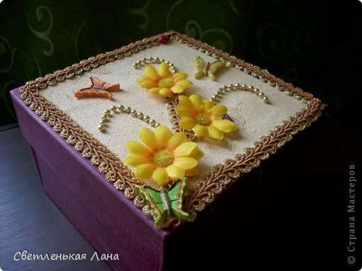 Доброго времени суток, жители Страны Мастеров!!! Еще коробочки для мамы украсила по ее просьбе... фото 4