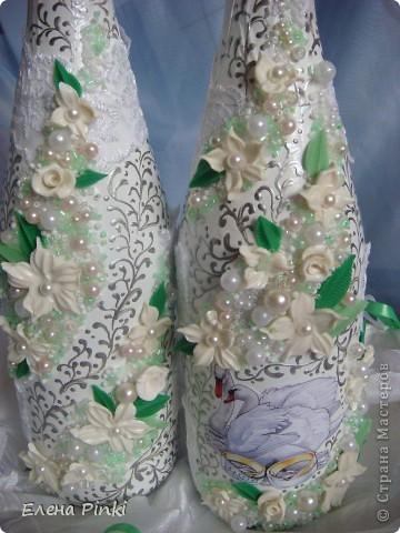 Добрый день!!Вот такие бутылочки получились на летнюю свадьбу=)Дальше просто фото фото 3