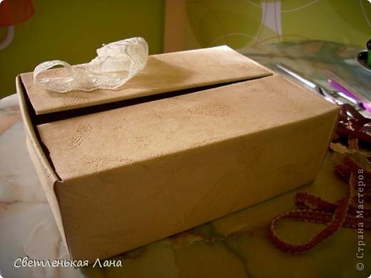 Доброго времени суток, жители Страны Мастеров!!! Еще коробочки для мамы украсила по ее просьбе... фото 2