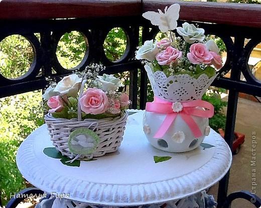 Первые два букета, всего 18 роз. фото 1