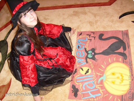 Вот такая ведьмочка получилась фото 4