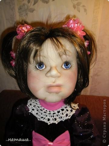 Здравствуйте ! На этой девочке пока заканчиваю больших кукол. Её ростик-84см. фото 7