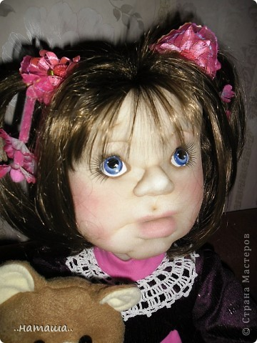 Здравствуйте ! На этой девочке пока заканчиваю больших кукол. Её ростик-84см. фото 6