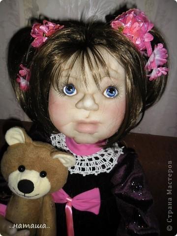 Здравствуйте ! На этой девочке пока заканчиваю больших кукол. Её ростик-84см. фото 8
