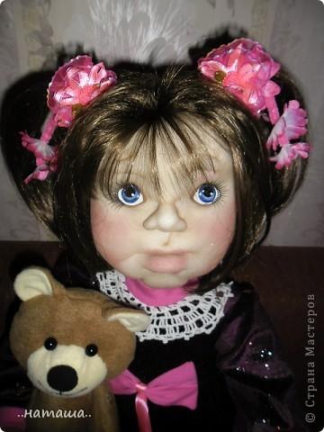 Здравствуйте ! На этой девочке пока заканчиваю больших кукол. Её ростик-84см. фото 1