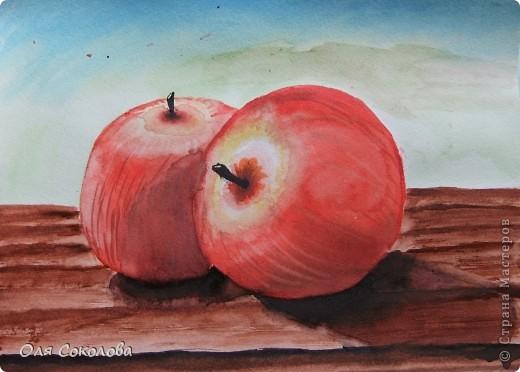 Рисовать я учусь у Екатерины Мороз. Вот, после посещения тренинга по акварели вышла с этими картинами фото 3