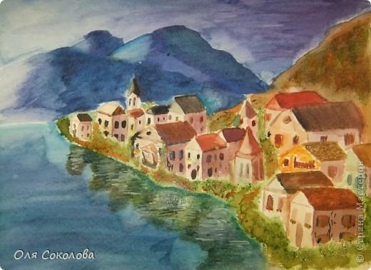 Рисовать я учусь у Екатерины Мороз. Вот, после посещения тренинга по акварели вышла с этими картинами фото 4