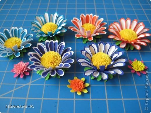Приглашаю всех,(кому интересно) в мою рабочую ,,кухню,, Предлагаю вам рецепт ,,Цветы из дырокольных цветов,, фото 17