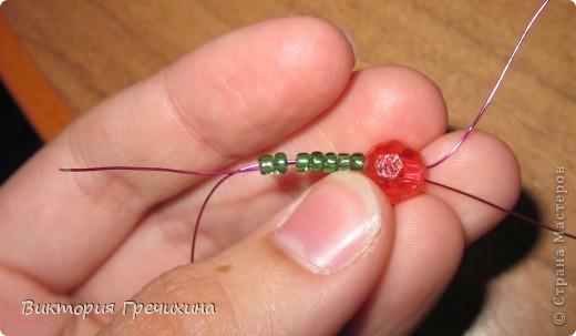 Здравствуйте, жители СМ! В этом мастер-классе я расскажу Вам как делать вот такие сережки - смородинки! Здесь моя конкурсная работа - http://stranamasterov.ru/node/363891 фото 10