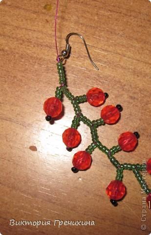 Здравствуйте, жители СМ! В этом мастер-классе я расскажу Вам как делать вот такие сережки - смородинки! Здесь моя конкурсная работа - http://stranamasterov.ru/node/363891 фото 12