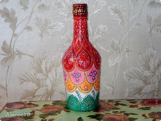 Бутылка фантазийная. фото 3