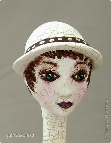 Девочки!Дорогие мои, у меня слепилась (и раскрасилась) вот такая морячка,отчего-то назвалась она Ассоль,хотя у Грина было иначе...Как она вам?  фото 13