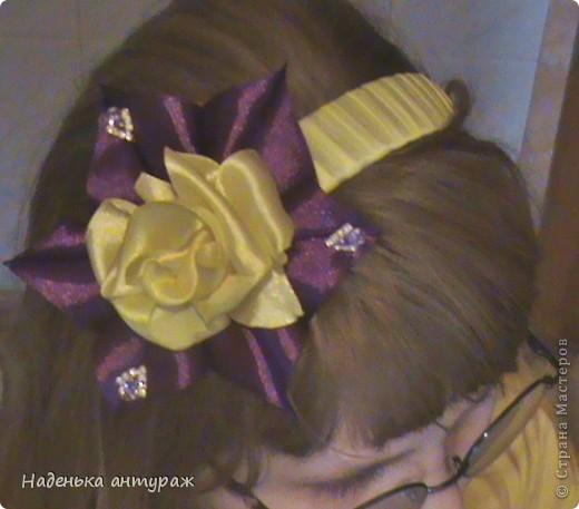 ЖЕЛТАЯ роза в обрамлении фиолетовых лепестков фото 2