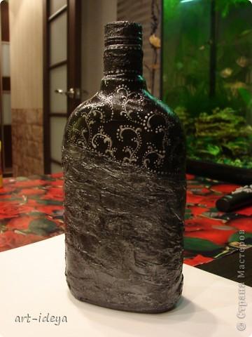 Вдохновленная работами по росписи бутылок фото 1