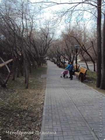 Начну,пожалуй,с самого излюбленного мною места:набережной.Здесь маленькая речка Ушайка впадает в реку Томь.Есть легенда,о двух влюблённых,которые не могли быть вместе и стали двумя реками навсегда соеденившись. фото 28