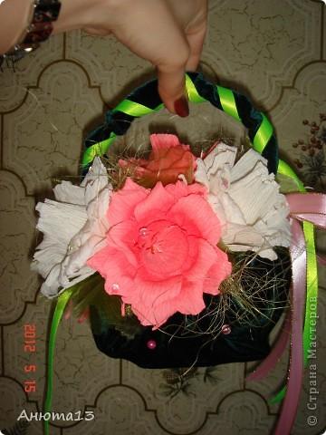 Розы в бархате или просто сумочка фото 3