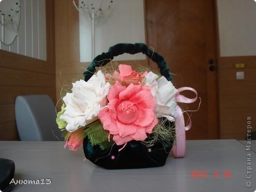 Розы в бархате или просто сумочка фото 4