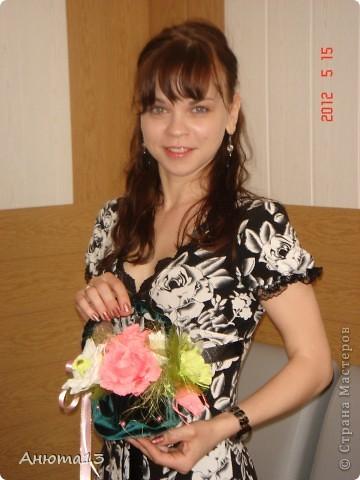 Розы в бархате или просто сумочка фото 9