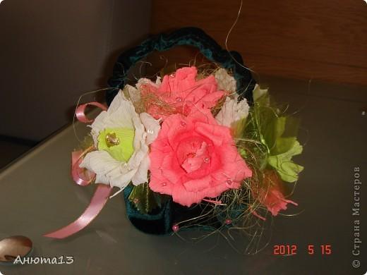 Розы в бархате или просто сумочка фото 2