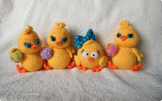 Цыплятки. Пасхальные игрушки-сувениры. фото 4