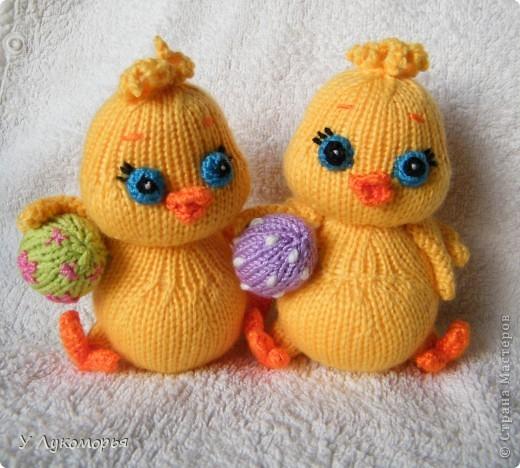 Цыплятки. Пасхальные игрушки-сувениры. фото 1