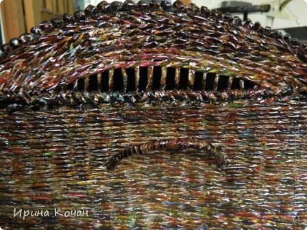 Плетеный сундук фото 3