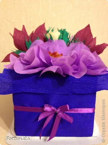 Внутри - коробочка з конфетами фото 1