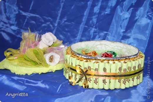 Тортик из конфет фото 8