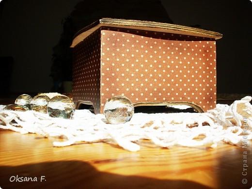 Сотворилась у меня коробка для чайных пакетиков и для всяких всякостей) фото 8