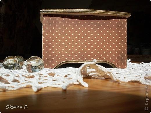 Сотворилась у меня коробка для чайных пакетиков и для всяких всякостей) фото 9