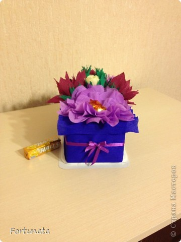 Внутри - коробочка з конфетами фото 4