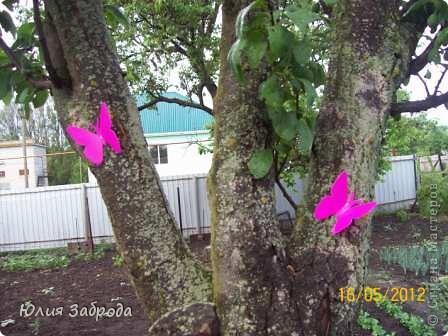 """Бабочки для сада из пластиковой бутылки """"Ваниш"""" фото 1"""